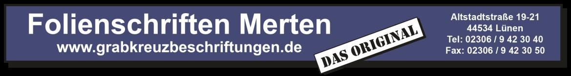 Folienschriften Merten Logo